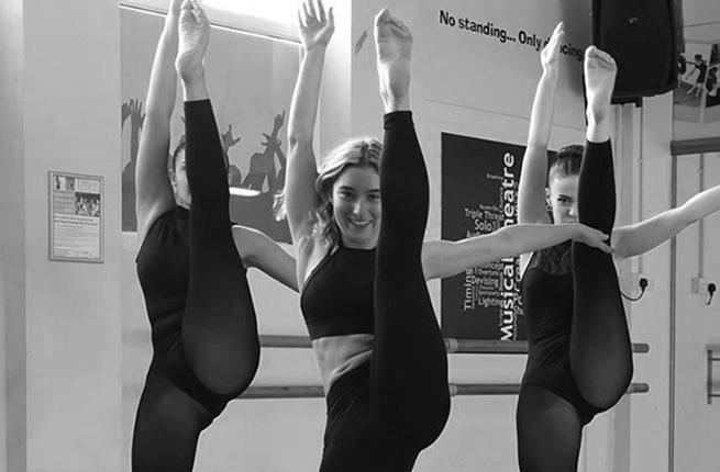 Dance classes at DPA.