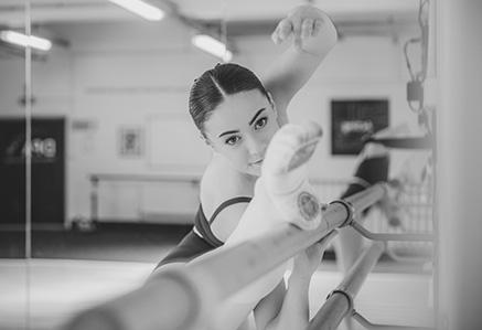 Ballet training at DPA.